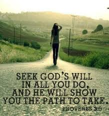 Seek God's Will