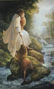 Jesus Helping Kids
