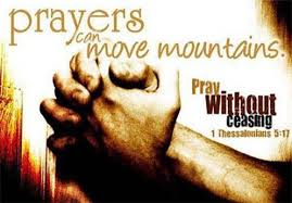 Prayer Can Move Mountains