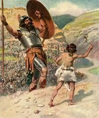 King David and Giant