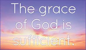 Gods Grace is Sufficient