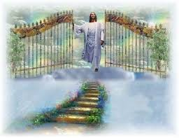 Image of Jesus at Heaven's Gate