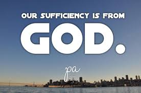 god-is-our-sufficiency
