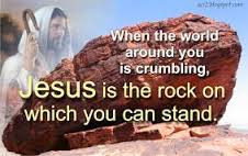 jesus-is-the-rock-on-which-we-can-stand