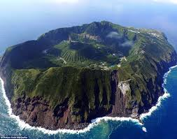 Mountain in Middle of Ocean