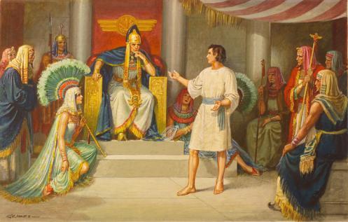 joseph-and-pharaoh-messengerreligiousart1